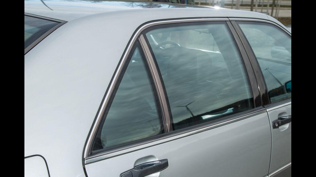 Mercedes-Benz 400 SEL, Seitenfenster