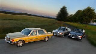 Mercedes-Benz 450 SEL 6.9, Mercedes-Benz 560 SEL, Mercedes-Benz 600 SEL