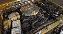 Mercedes-Benz 450 SEL 6.9, W 116, Baujahr 1977 Motor