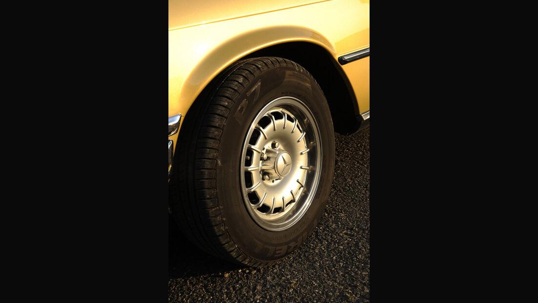 Mercedes-Benz 450 SEL 6.9, W 116, Baujahr 1977 Rad