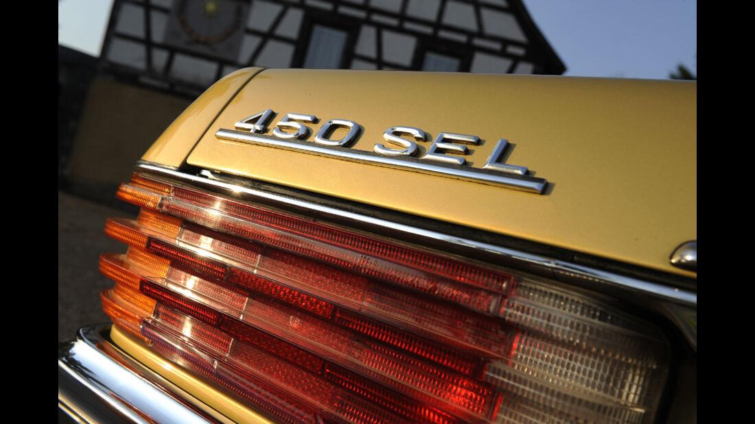Mercedes-Benz 450 SEL 6.9, W 116, Baujahr 1977 Schriftzug