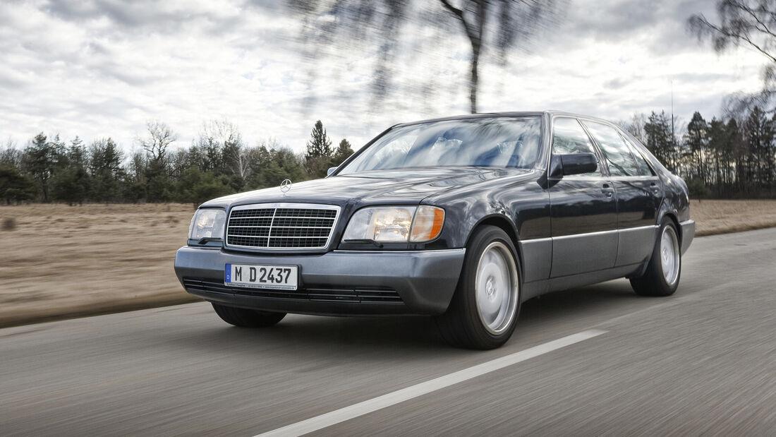 Mercedes-Benz 500 SEL, Exterieur