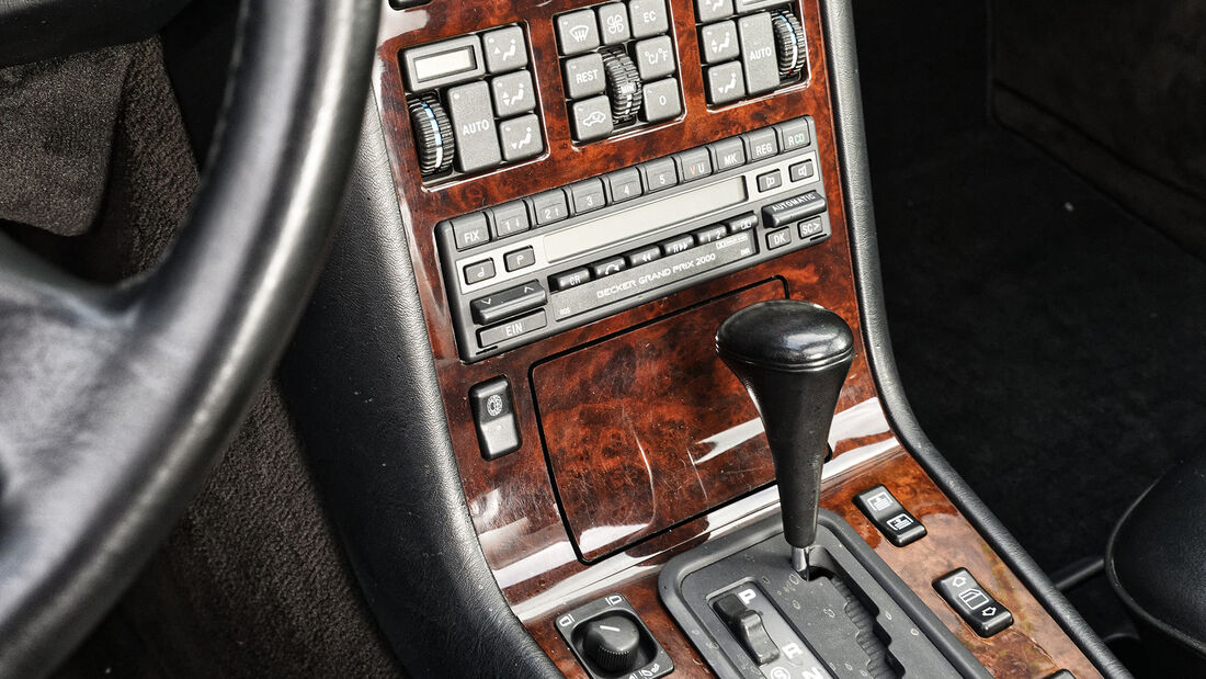 Mercedes-Benz 500 SEL, Interieur