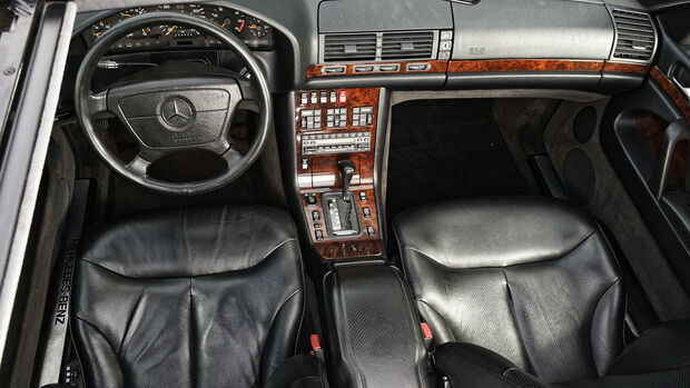 Mercedes-Benz 500 SEL, Interieur