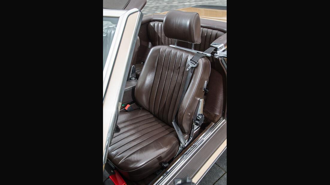 Mercedes-Benz 500 SL, Fahrersitz