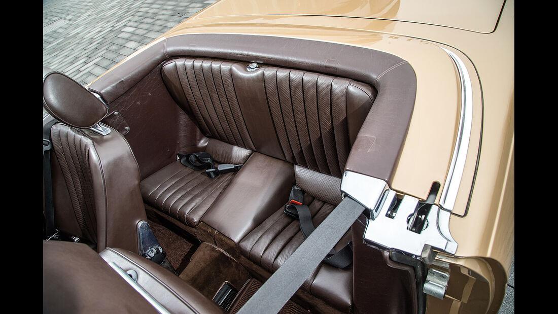 Mercedes-Benz 500 SL, Fondsitz