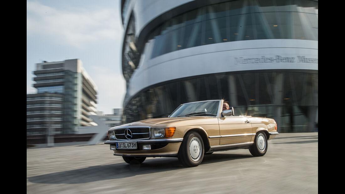 Mercedes-Benz 500 SL, Frontansicht