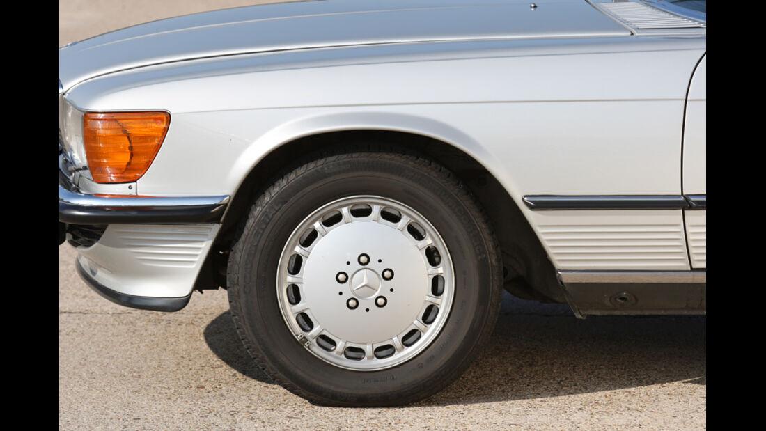 Mercedes-Benz 500 SL (R 107), Rad