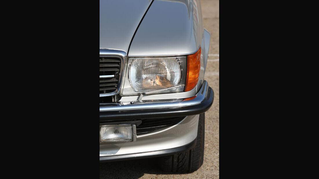 Mercedes-Benz 500 SL (R 107), Scheinwerfer