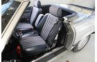 Mercedes-Benz 500 SL (R 107), Sitze