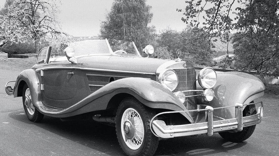 Mercedes-Benz 540 K Cabriolet, Frontansicht