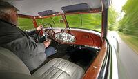 Mercedes-Benz 540 K Stromlinienwagen, Cockpit