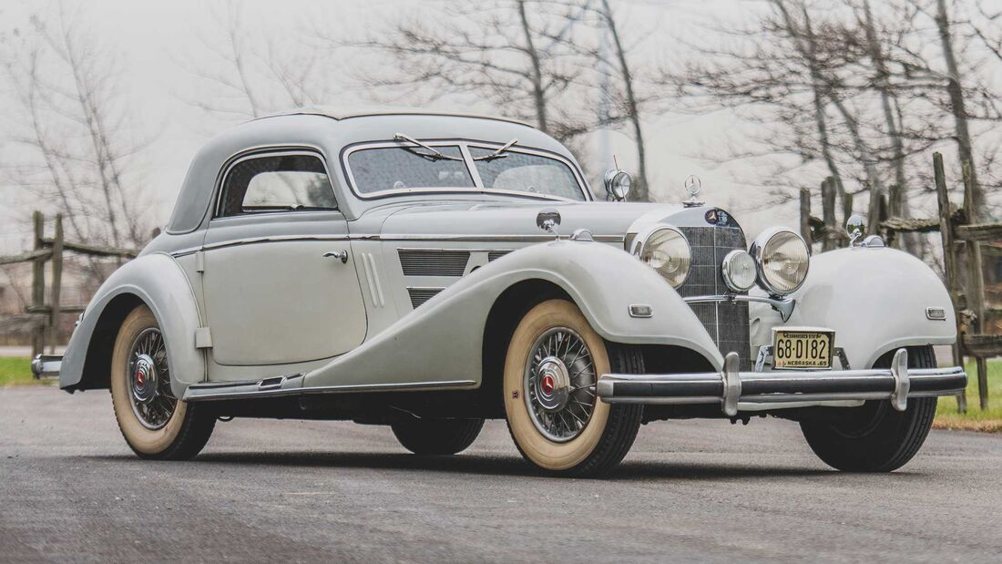 Mercedes-Benz 540K (1937) Hebmüller Coupé