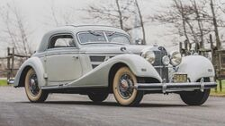 Mercedes-Benz 540K (1937) Hebmüller Coupé