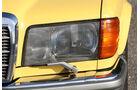 Mercedes-Benz 560 SEL, Baujahr 1986, Scheinwerfer mit Wischer