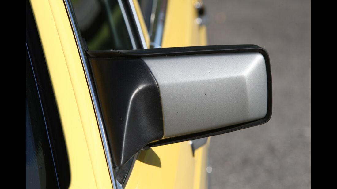 Mercedes-Benz 560 SEL, Baujahr 1986, Seitenspiegel