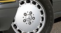 Mercedes-Benz 560 SEL, Rad, Felge