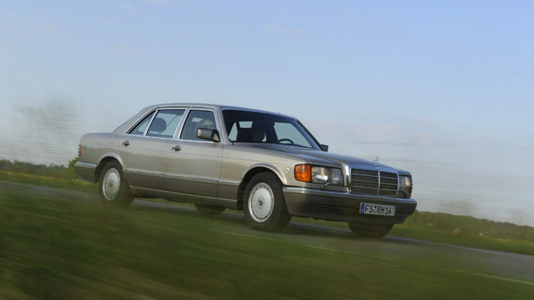 Mercedes-Benz 560 SEL, W 126, Baujahr 1989