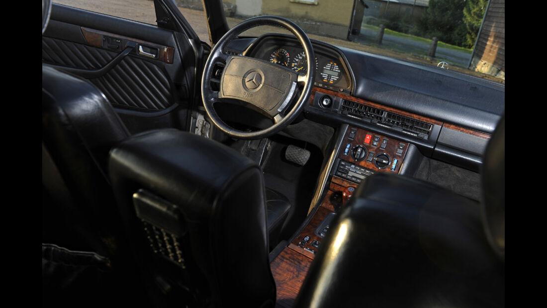 Mercedes-Benz 560 SEL, W 126, Baujahr 1989 Cockpit