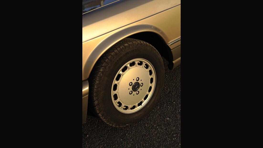 Mercedes-Benz 560 SEL, W 126, Baujahr 1989 Rad