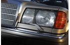 Mercedes-Benz 560 SEL, W 126, Baujahr 1989 Scheinwerfer