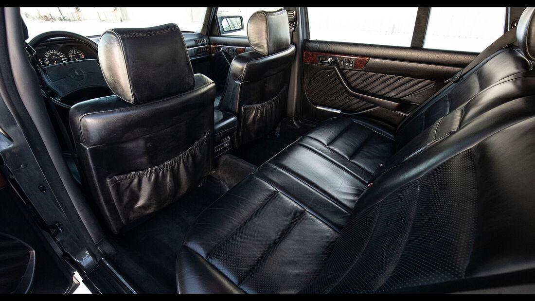 Mercedes-Benz 560 TEL (1990) Caro Rücksitze