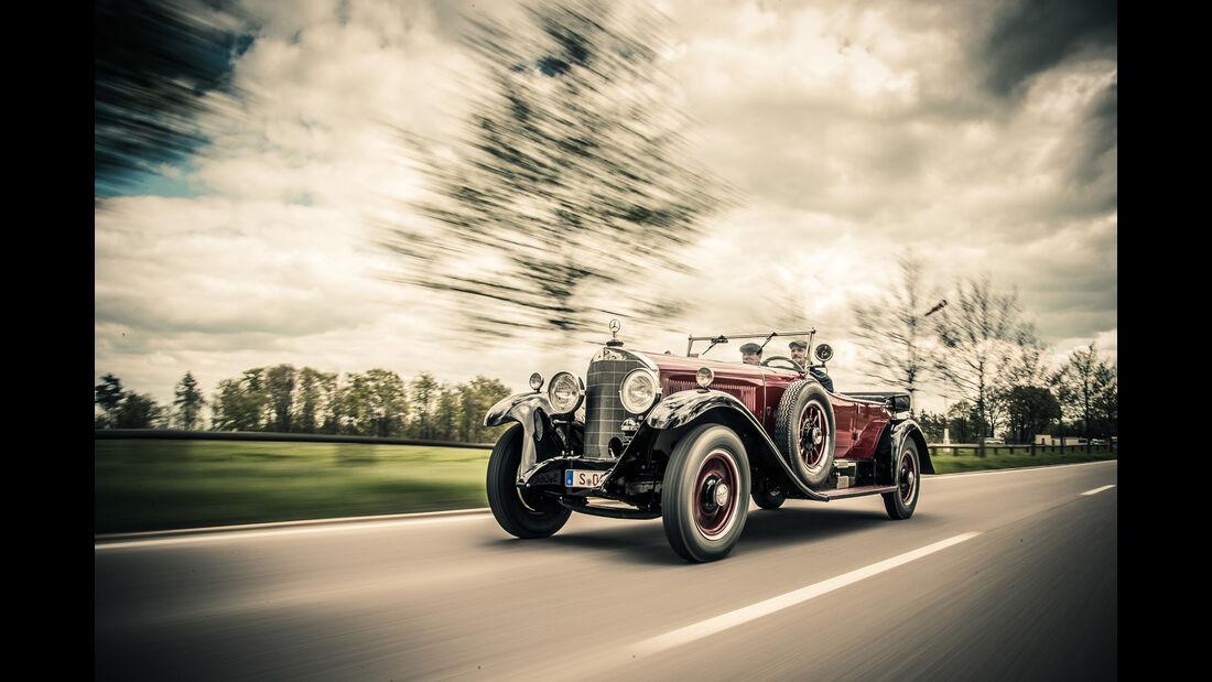 Mercedes-Benz 630 K, Ausfahrt, Impression