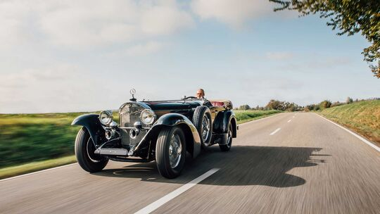 Mercedes-Benz 710 SS 27/140/200 Sport Tourer (1929)