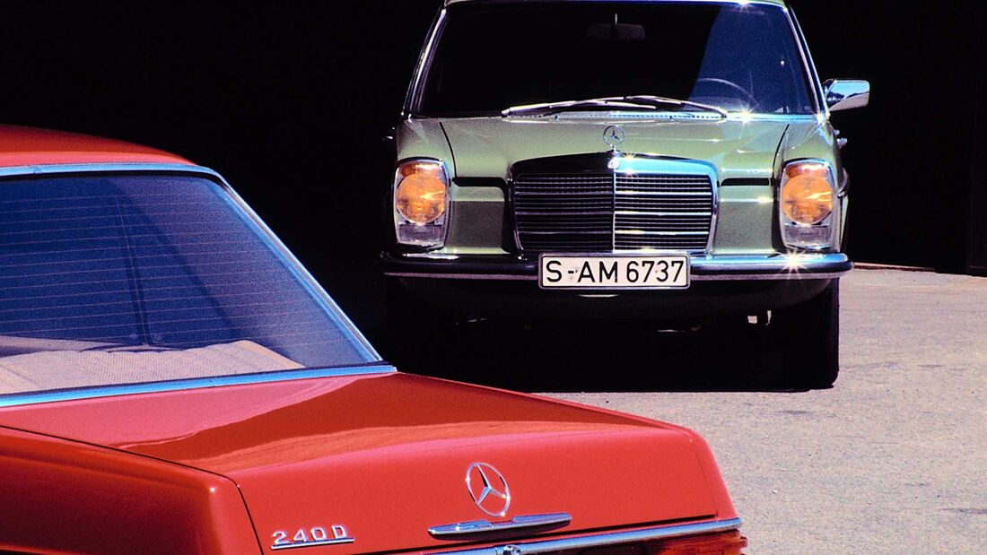 Mercedes-Benz /8 Strich-Acht W114/W115 (1968-76)