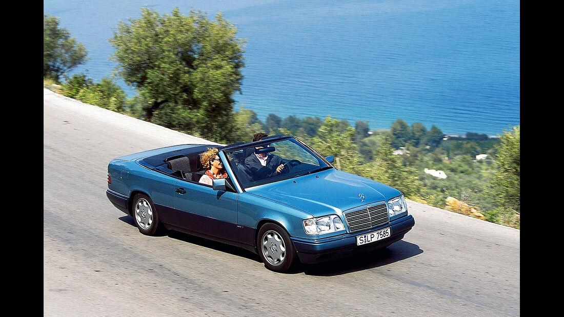 Mercedes-Benz A 124, Frontansicht