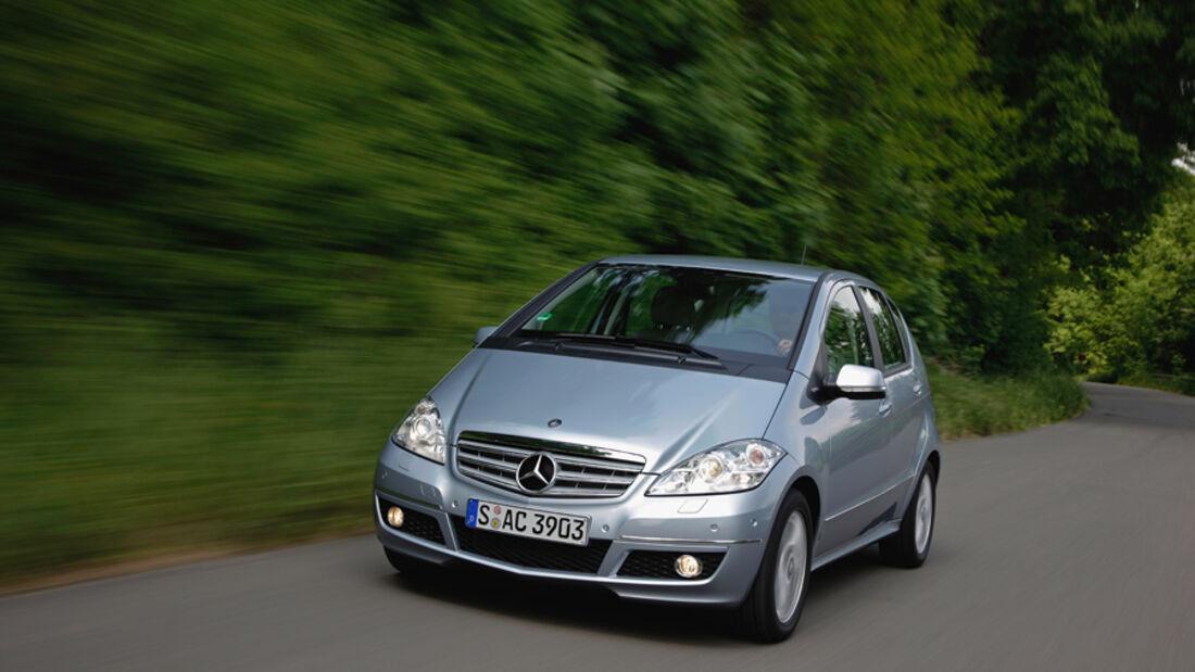 Mercedes Benz A-Klasse, Frontansicht