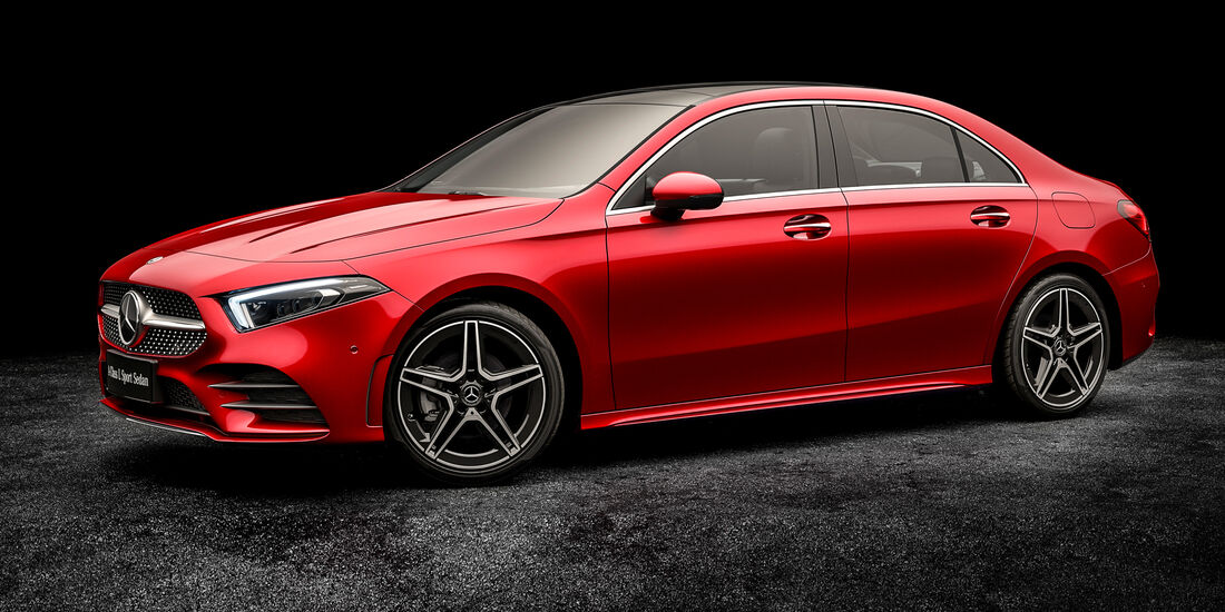 Mercedes-Benz A-Klasse Sedan Lang China 2018