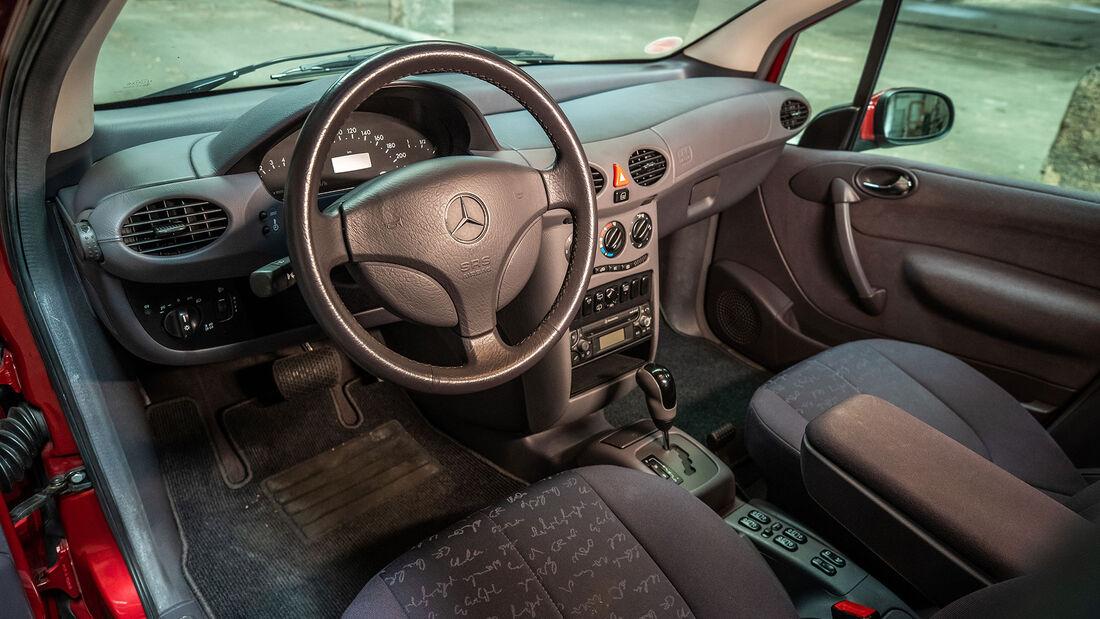 Mercedes Benz A170 (W 168) (1998-2001), Innenraum