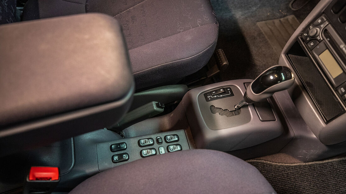 Mercedes Benz A170 (W 168) (1998-2001), Innenraum, Mittelkonsole