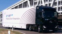 Mercedes-Benz Actros, Highway-Pilot, Autonomer Lkw, Autonomes Fahren