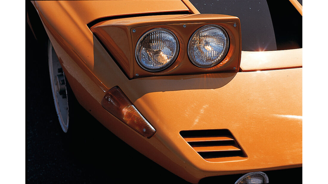 Mercedes-Benz C 111 Scheinwerfer