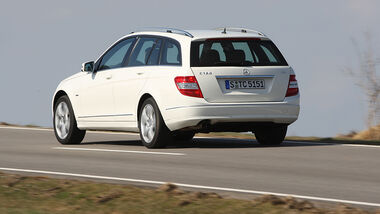 Mercedes-Benz C 180 CGI T Blue Efficieny
