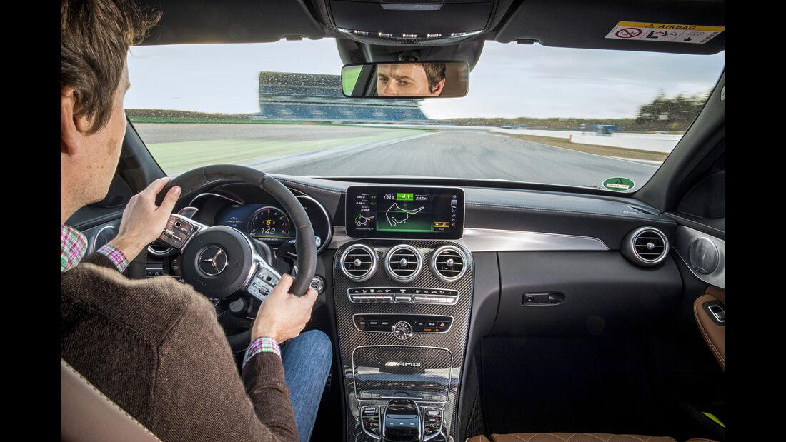 Mercedes-Benz C AMG, Interieur