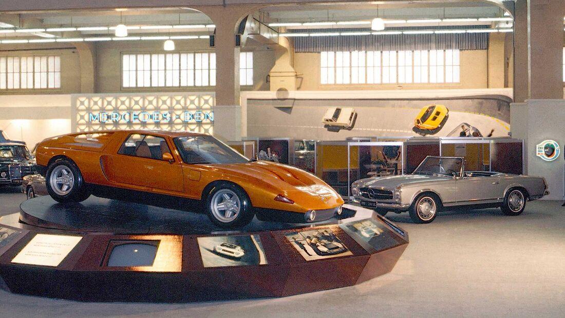 Mercedes-Benz C111 II Genf 1970