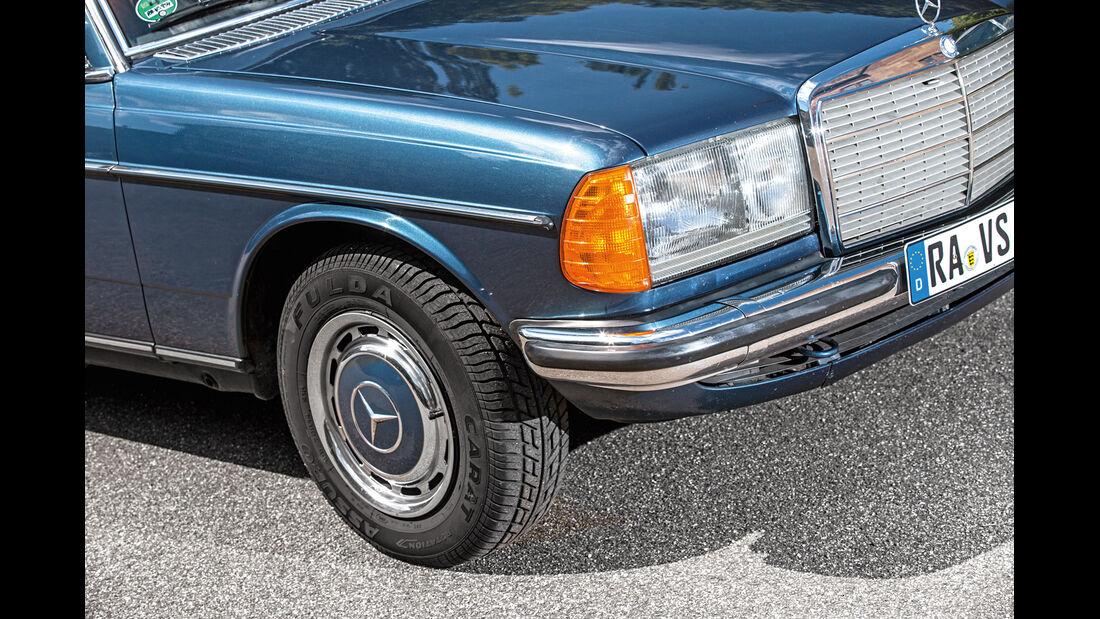 Mercedes-Benz C123, Rad, Felge