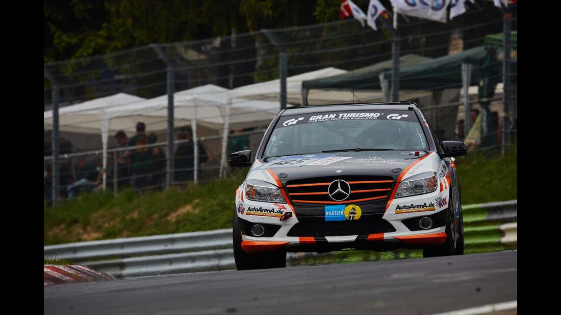 Mercedes-Benz C23 - Startnummer: #185 - 24h-Nürburgring 2015 - Donnerstag