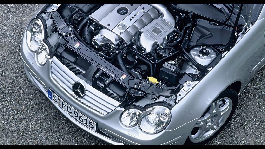 Mercedes-Benz C30 CDI AMG Motor Fünfzylinder-Diesel