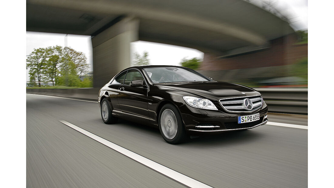 Mercedes-Benz CL 2010, Luxus-Coupé