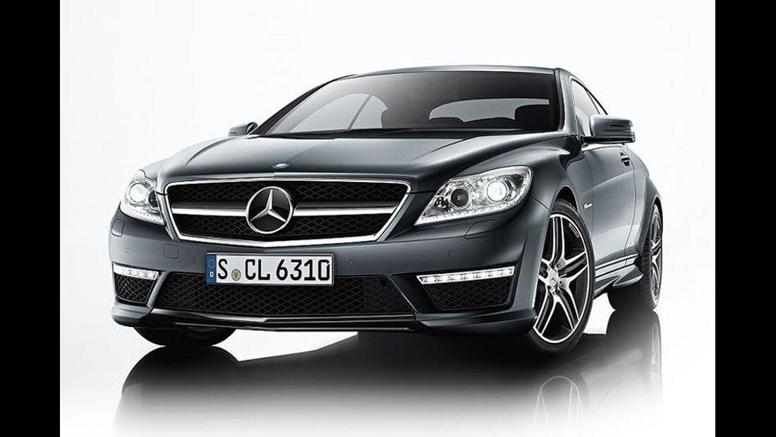 Mercedes-Benz CL 2010, Luxus-Coupé, CL 63 AMG