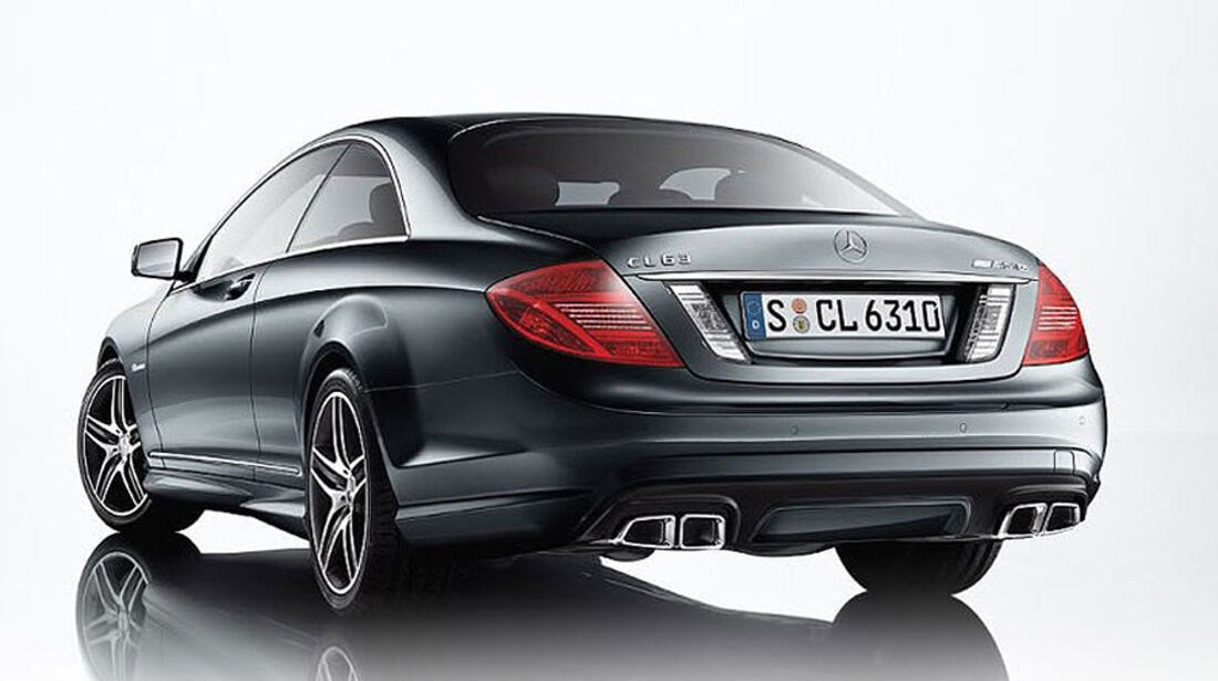 Mercedes-Benz CL 2010, Luxus-Coupé, CL 63 AMG