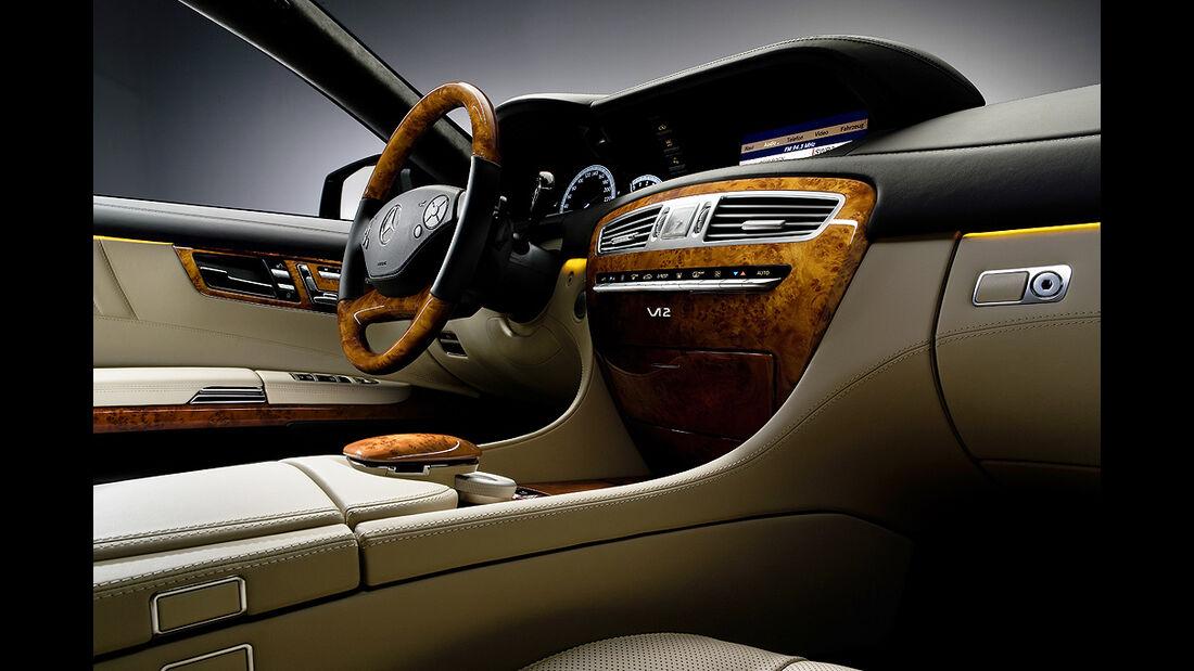 Mercedes-Benz CL 2010, Luxus-Coupé, Cockpit