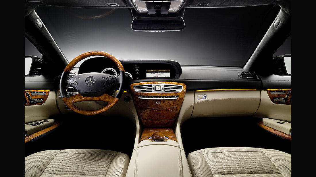 Mercedes-Benz CL 2010, Luxus-Coupé, Cockpit