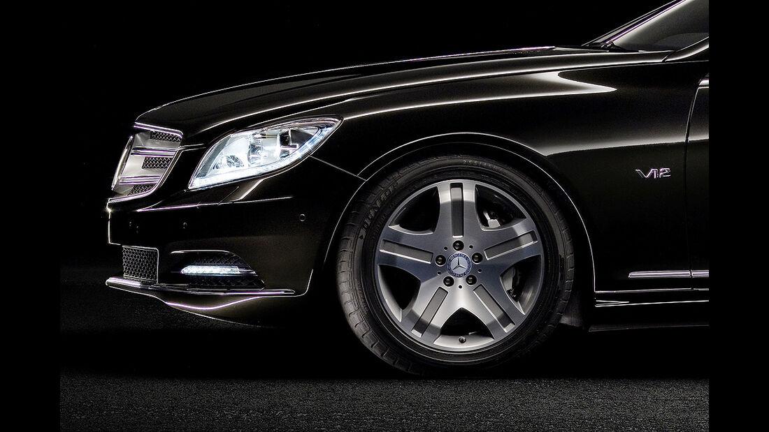 Mercedes-Benz CL 2010, Luxus-Coupé, Felge