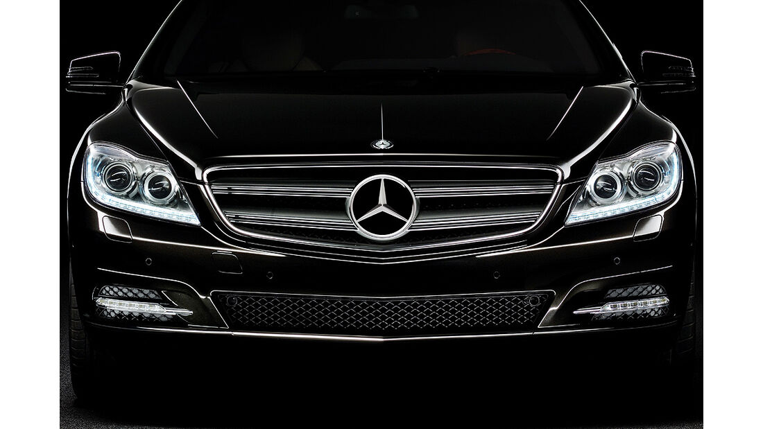 Mercedes-Benz CL 2010, Luxus-Coupé, Front, Kühlergrill