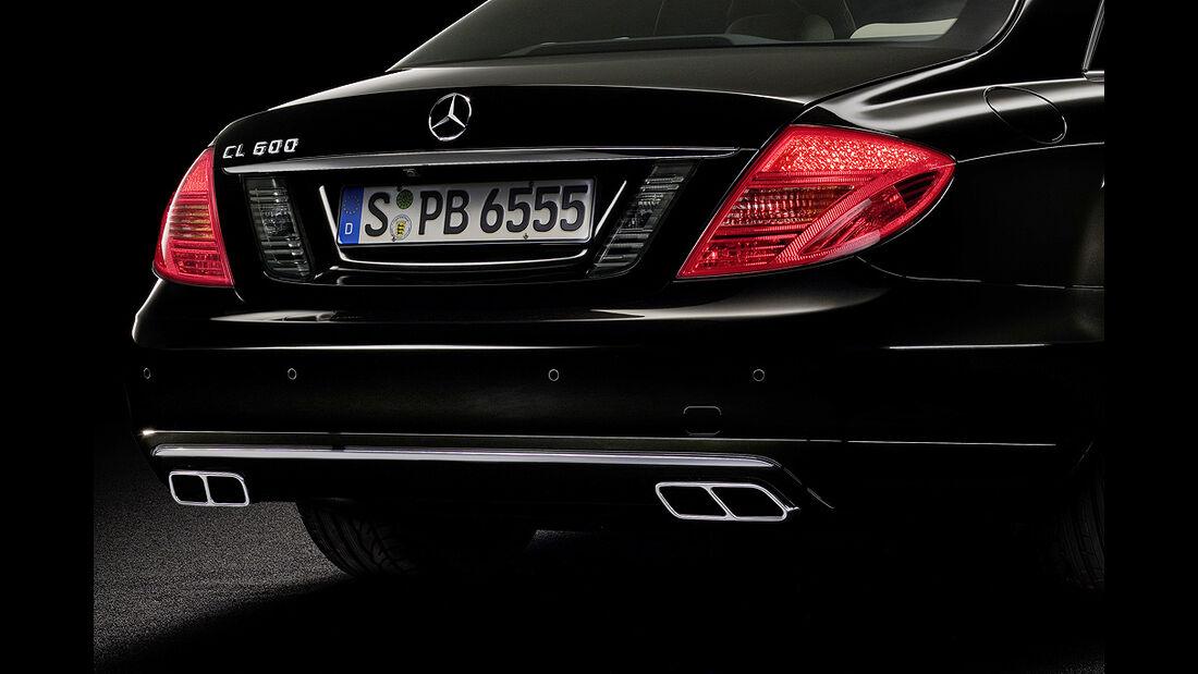 Mercedes-Benz CL 2010, Luxus-Coupé, Heck